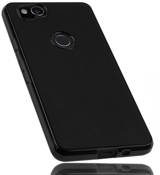 TPU Hülle schwarz für Google Pixel 2