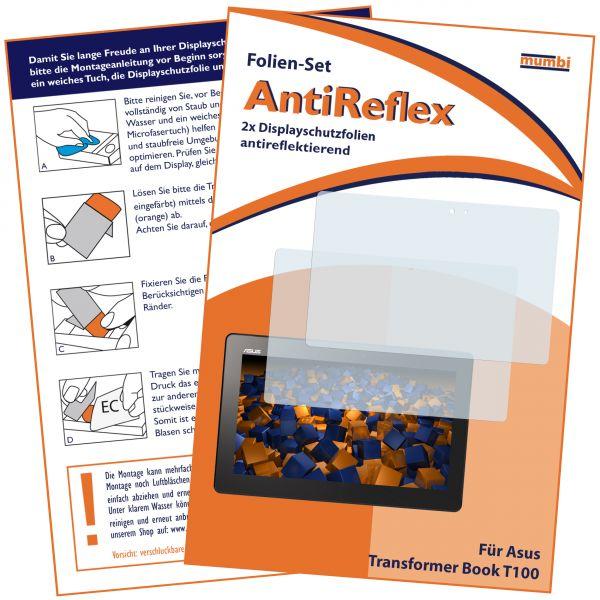 Displayschutzfolie 2 Stck. AntiReflex für ASUS Transformer Book T100
