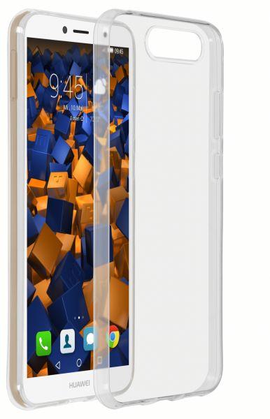 TPU Hülle Ultra Slim transparent für Huawei Y6 (2018)
