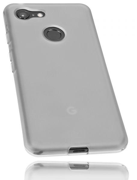 TPU Hülle schwarz transparent für Google Pixel 3