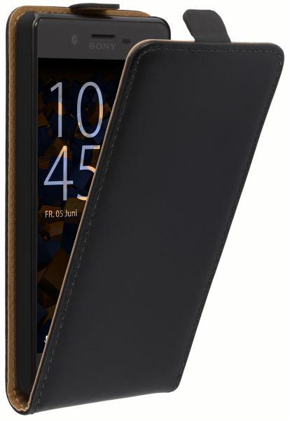Flip Case Tasche schwarz für Sony Xperia X Performance