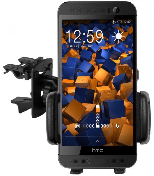 Lüftungsschlitz KFZ Halterung Vent Mount Kugelgelenk für HTC One M9 Plus
