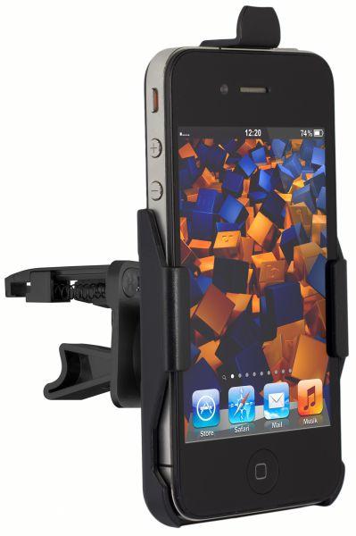 Lüftungsschlitz KFZ Halterung für Apple iPhone 4 / 4s