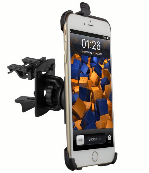 Lüftungsschlitz KFZ Halterung Schale aufstellbar für Apple iPhone 6 Plus / 6s Plus