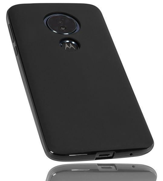 TPU Hülle schwarz für Motorola Moto G6 Play