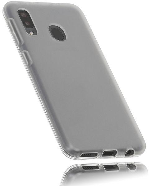 TPU Hülle weiß transparent für Samsung Galaxy A20e