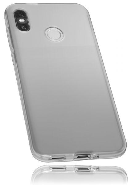 TPU Hülle weiß transparent für HTC U12 Life