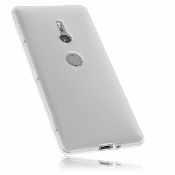 TPU Hülle weiß transparent für Sony Xperia XZ2