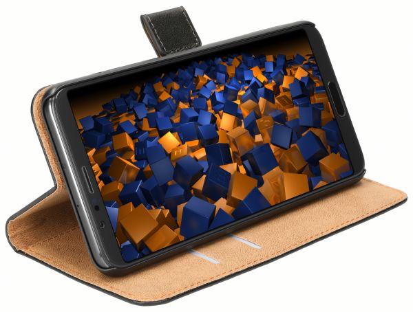Bookstyle Tasche schwarz für Huawei Honor View 10