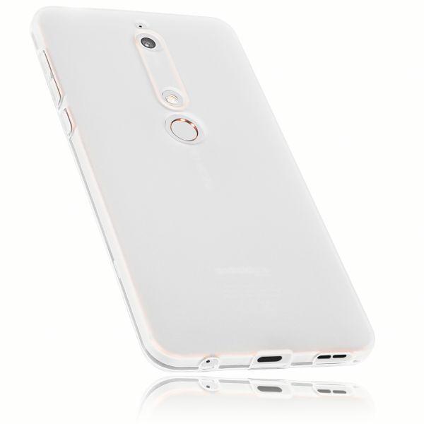 TPU Hülle weiß transparent für Nokia 6 (2018)