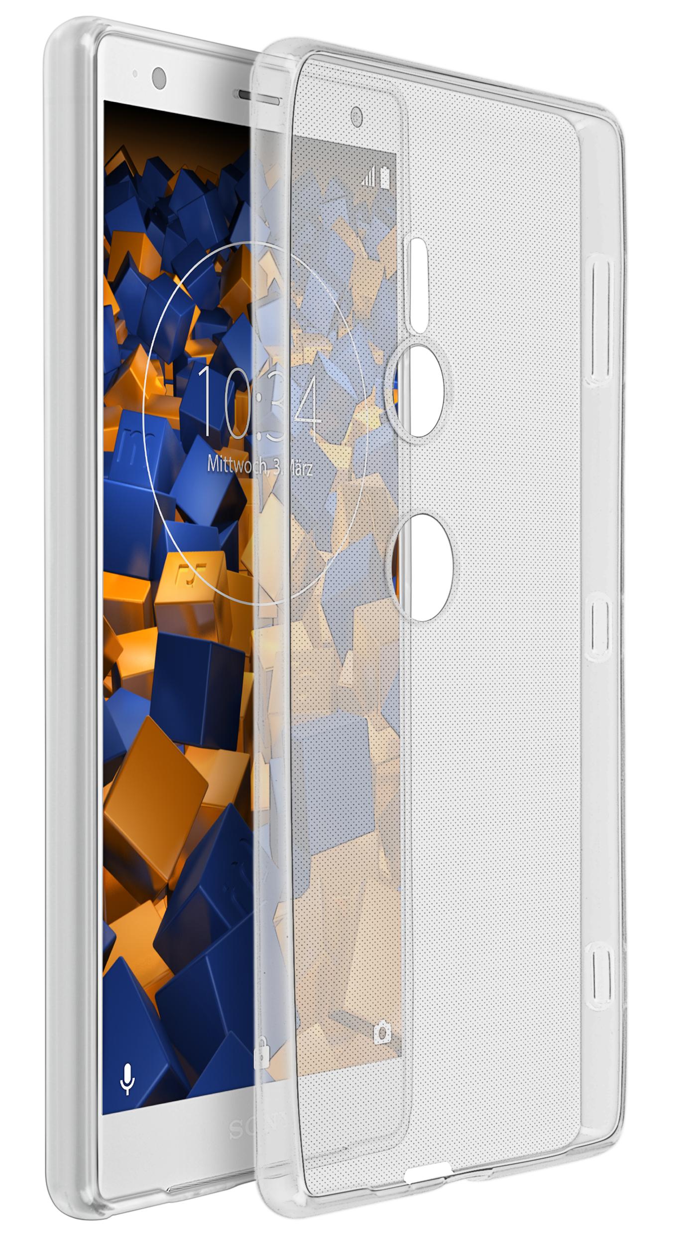 1 mumbi O1 tpu huelle schutzhuelle case bumper ultra slim Sony Xperia XZ2