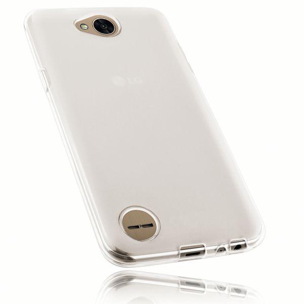 TPU Hülle weiß transparent für LG X Power 2