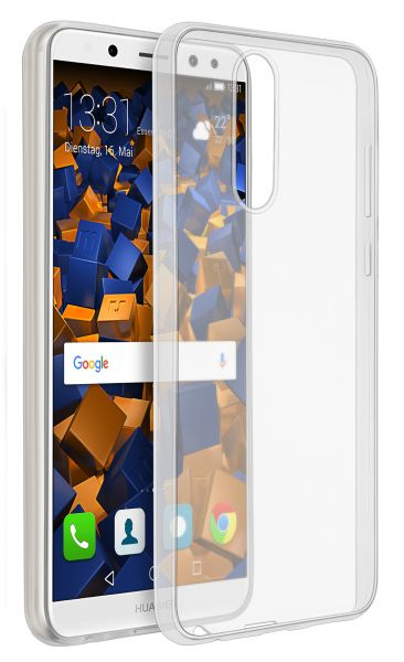 TPU Hülle Ultra Slim transparent für Huawei Mate 10 Lite