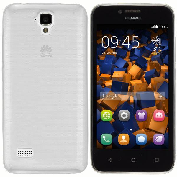 TPU Hülle Ultra Slim transparent für Huawei Y5