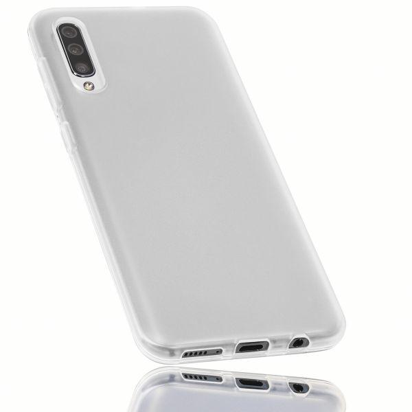 TPU Hülle weiß transparent für Samsung Galaxy A50