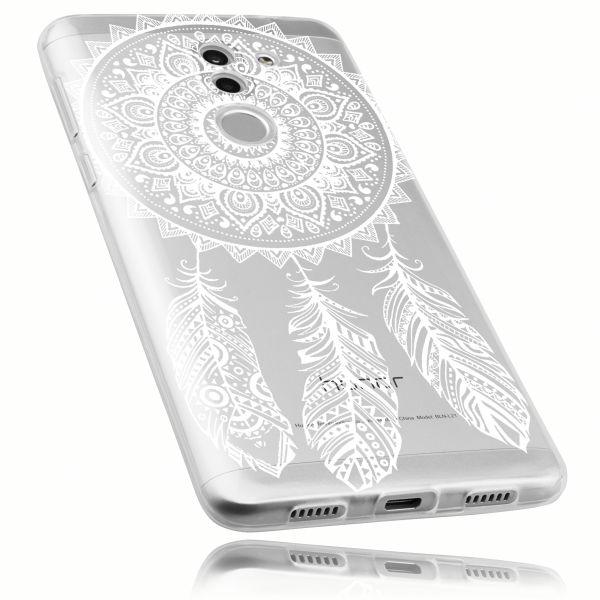 TPU Hülle Ultra Slim transparent Motiv Traumfänger für Huawei Honor 6X
