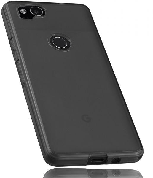 TPU Hülle schwarz transparent für Google Pixel 2