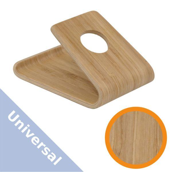 Universal Ständer Handyhalter aus Bambus