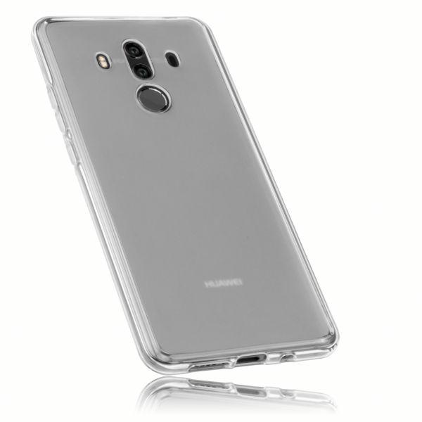 TPU Hülle weiß transparent für Huawei Mate 10 Pro