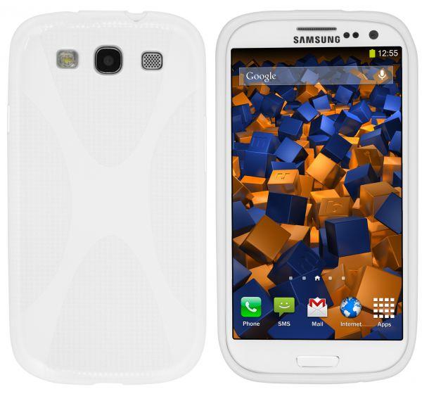 TPU Hülle X-Design weiß für Samsung Galaxy S3 / S3 Neo