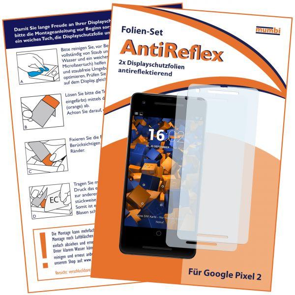 Displayschutzfolie 2 Stck. AntiReflex für Google Pixel 2