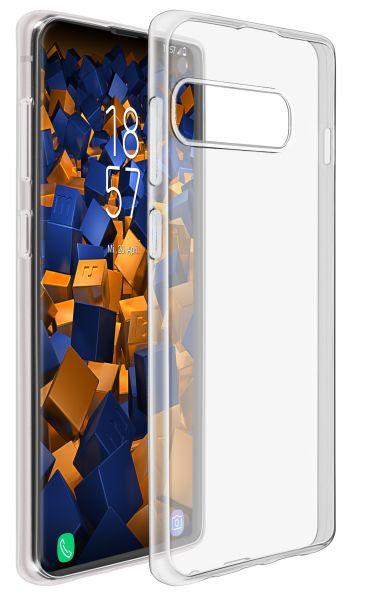 TPU Hülle Ultra Slim transparent für Samsung Galaxy S10 Plus