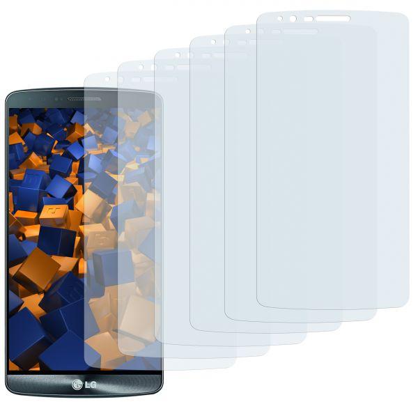Displayschutzfolie 6 Stck. CrystalClear für LG G3