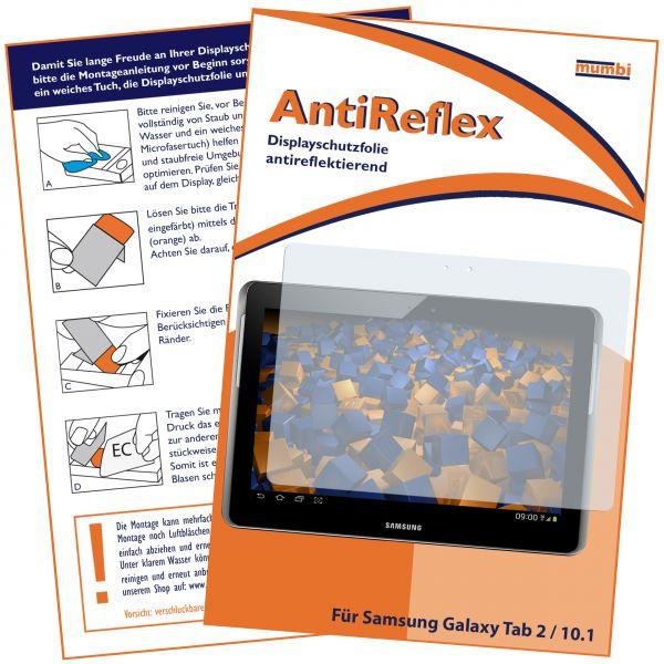 Displayschutzfolie AntiReflex für Samsung Galaxy Tab 2 10.1