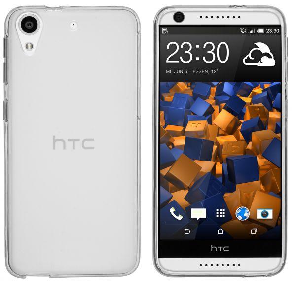 TPU Hülle transparent weiß für HTC Desire 626G