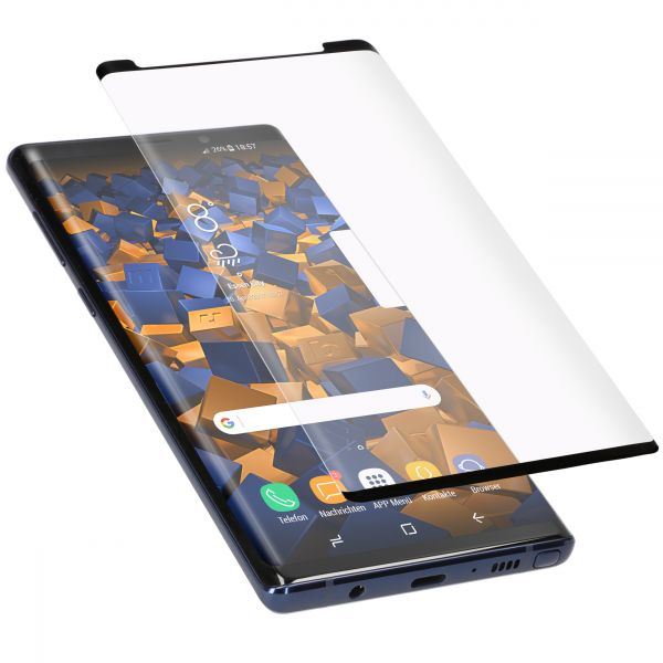 3D Panzerglasfolie Full Cover Case Friendly 6H für Samsung Galaxy Note 9
