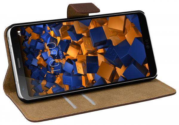 Bookstyle Tasche braun für LG G6