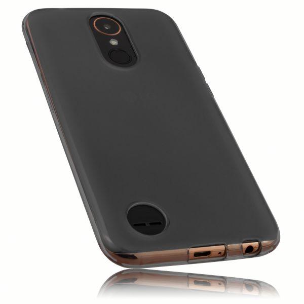 TPU Hülle schwarz transparent für LG K10 (2017)