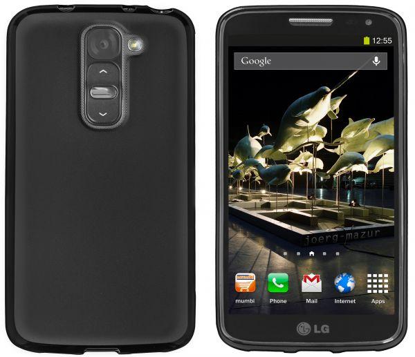 TPU Hülle schwarz für LG G2 Mini