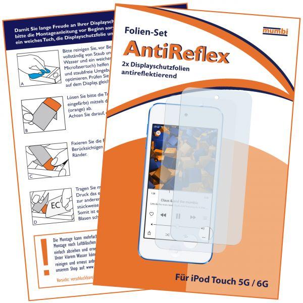Displayschutzfolie 2 Stck. AntiReflex für iPod Touch 5G / 6G