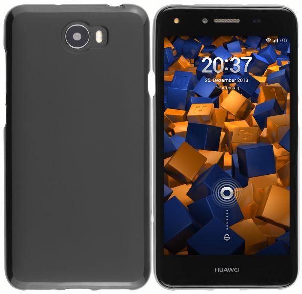TPU Hülle schwarz für Huawei Y5 II