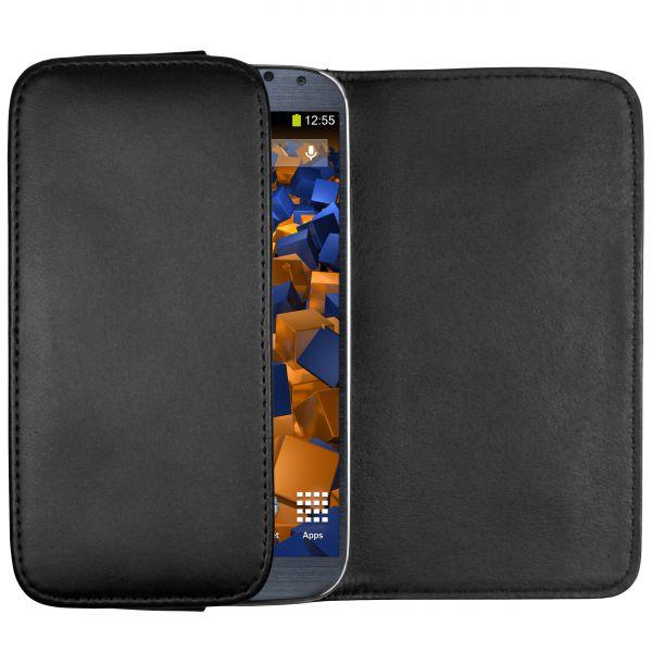 Quertasche schwarz für Samsung Galaxy S4