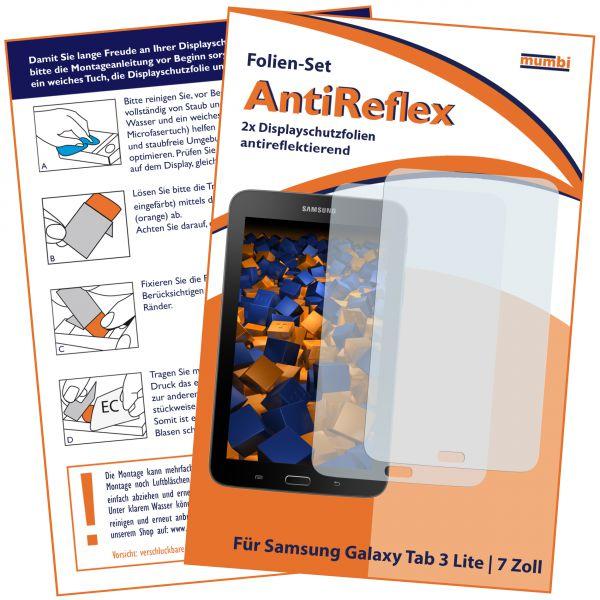 Displayschutzfolie 2 Stck. für Samsung Galaxy Tab 3 7.0 Lite (7 Zoll) ohne Telefonfunktion