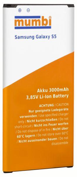 Ersatzakku Lithium-Ionen 3000 mAh (ohne NFC) für Samsung Galaxy S5 / S5 Neo
