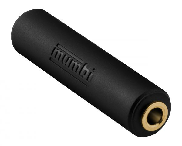 Audio Klinke Adapter schwarz für 3.5mm Klinke Buchse auf 3.5mm Klinke Buchse