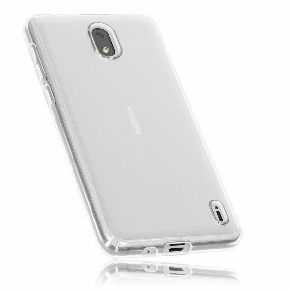 TPU Hülle weiß transparent für Nokia 2