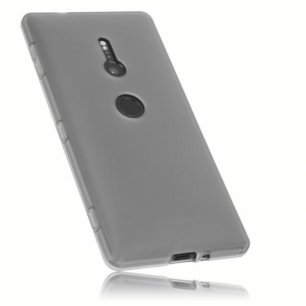 TPU Hülle schwarz transparent für Sony Xperia XZ2