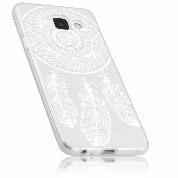 TPU Hülle Ultra Slim transparent Motiv Traumfänger für Samsung Galaxy A3 (2017)