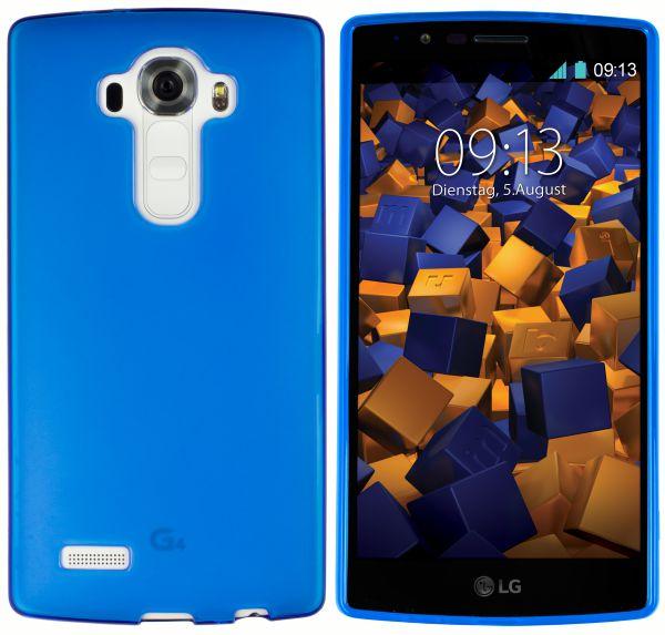 TPU Hülle blau transparent für LG G4