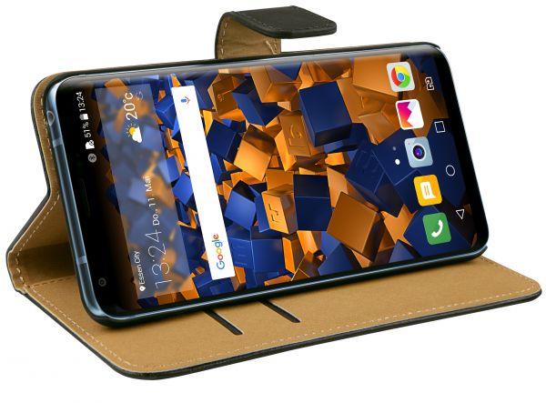 Bookstyle Tasche schwarz für LG V30 / V30S ThinQ