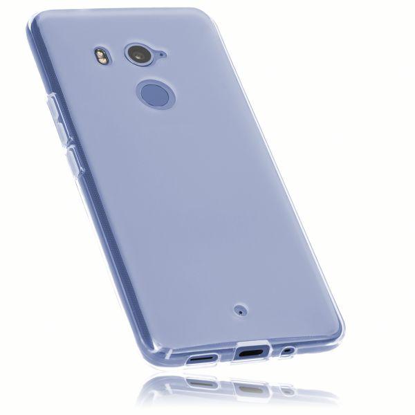 TPU Hülle weiß transparent für HTC U11 Plus