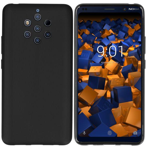 TPU Hülle schwarz für Nokia 9 PureView