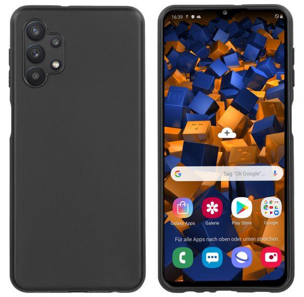 TPU Hülle schwarz für Samsung Galaxy A32 5G