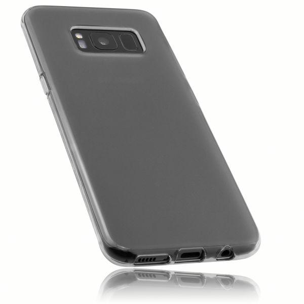 TPU Hülle schwarz transparent für Samsung Galaxy S8