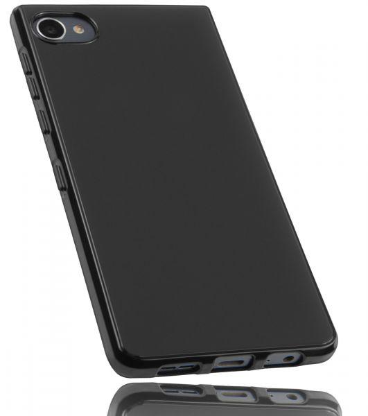 TPU Hülle schwarz für Blackberry Motion
