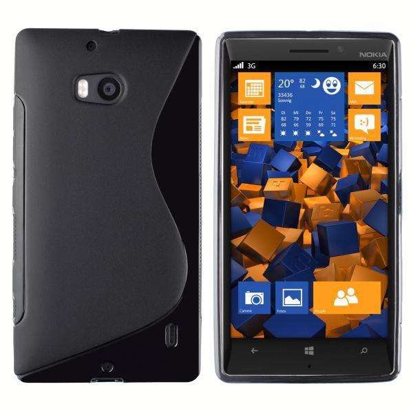 TPU Hülle S-Design schwarz für Nokia Lumia 930
